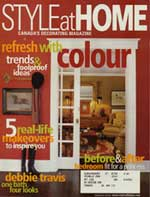 Debra Gould featured in Style at Home Magazine
