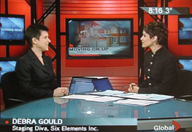 Debra Gould on Global TV
