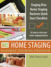 Staging Diva Home Staging Business Quick-Start Checklist