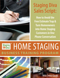 Staging Diva Home Staging Sales Script