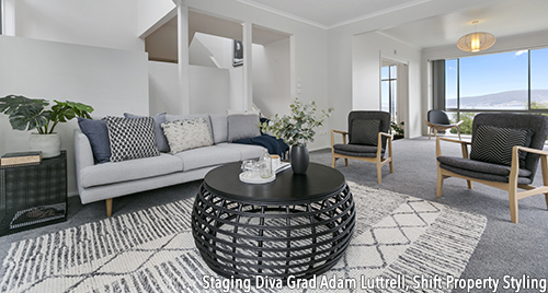 Men in home staging