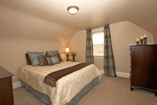 Bedroom after staging
