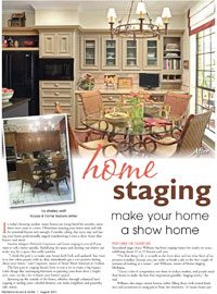 Staging Diva in Michiana Magazine