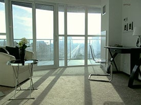 condo after home staging