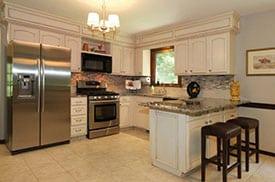 kitchen after staging Jodi Whalen