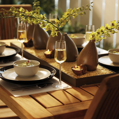 Set the table for home staging