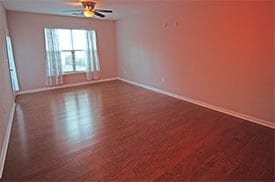 vacant home staging home