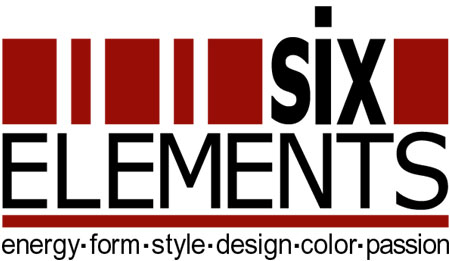 Six Elements home staging business logo