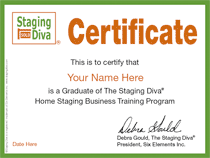 Staging Diva Certificate