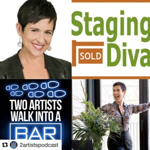 home stager Debra Gould on Artist Podcast