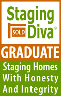 Staging diva grad badge