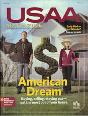 USAA Magazine Cover