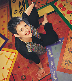 Debra Gould Floorcloth Artist