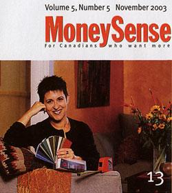 Debra Gould in MoneySense
